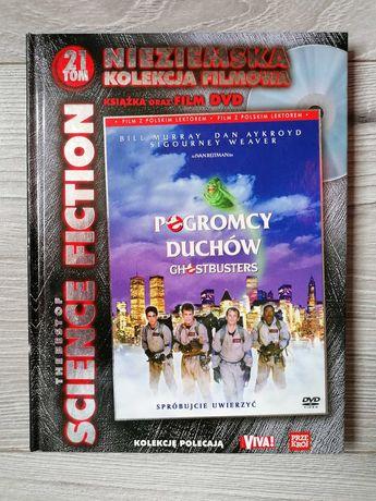 Pogromcy Duchów Kultowy film DVD Jak nowy książka Bill Murray
