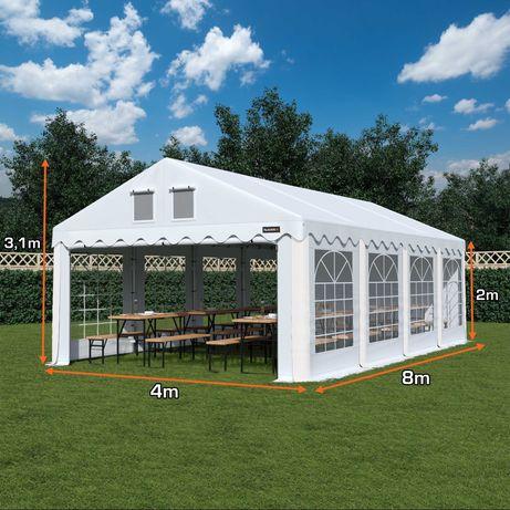 Namiot COMFORT 4x8 imprezowy ogrodowy RÓŻNE KOLORY