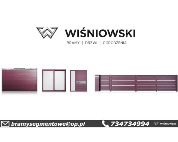 Brama Segmentowa Garażowa Przemysłowa Uchylna Poznań Piła Gniezno