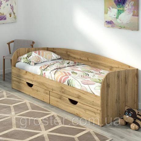 Детская и подростковая кровать Соня-3 с ящиками для белья