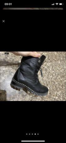 Кожанык зимние ботинки