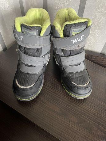 Зимние сапоги на мальчика 30 размер 19.5