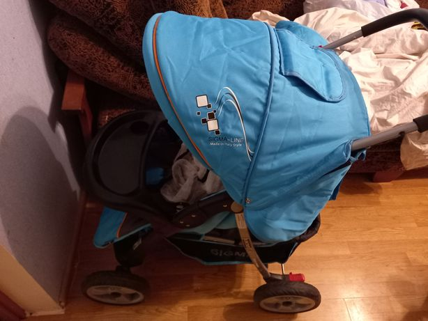 Новая коляска прогулка sigma книжка вся в комплекте