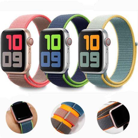 Ремешок Sport Loop Нейлоновый для Apple Watch 6,5,4,3,2,1 Эппл вотч