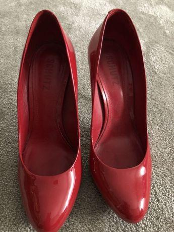 Stilettos vermelhos schutz 37