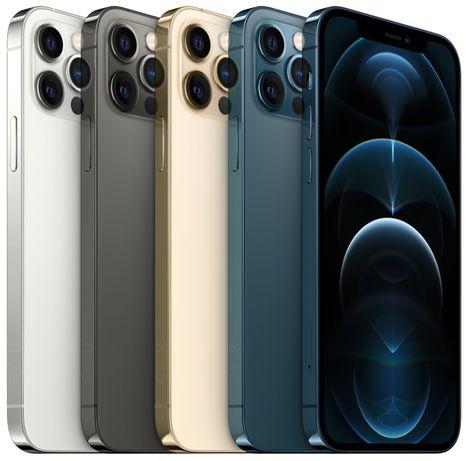iPhone 12 Pro Max 128-256-512Gb Graphite/Pacific Blue/Gold/Silver