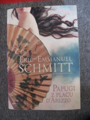 książka Papugi z placu D'arezzo