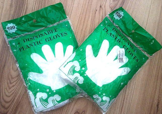 Rękawiczki jednorazowe HDPE