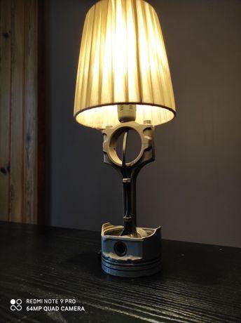Lampka nocna dla fana motoryzacji, na prezent, loft, industrial.