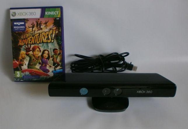 Sensor KINECT Xbox 360 + Kinect Adventures