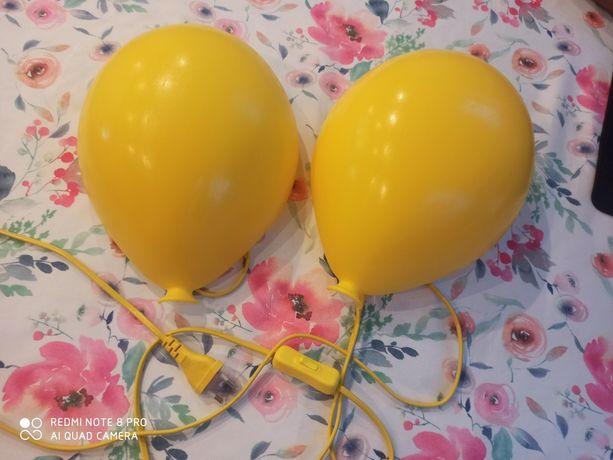 Lampki balon żółty