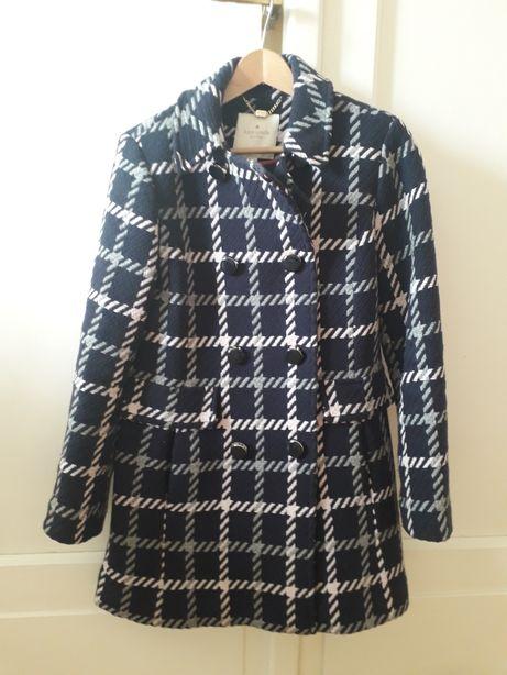 Płaszcz zimowy wełna 79% Kate Spade XS (38) jak nowy