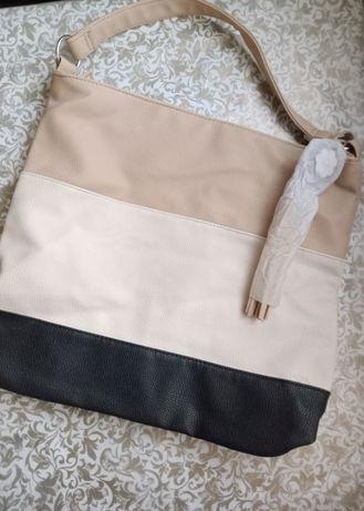 Новая комбинированная сумочка