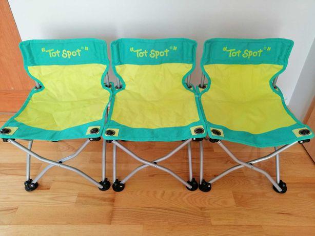Krzesełka rozkładane dla dzieci