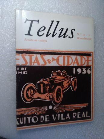 Revista de Cultura Tellus 1983 circuito de Vila Real na Capa
