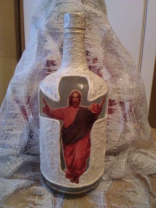 Декоративная бутылка Киев - изображение 1