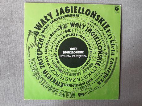 Vinyl Winyl Wały Jagiellońskie Etykieta Zastępcza 1981