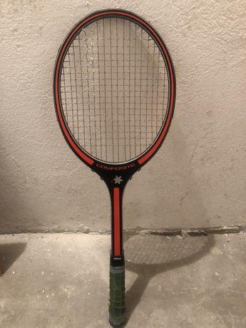 Antyczna rakieta tenisowa yamaha