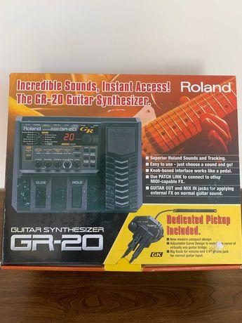 Syntezator gitarowy Roland GR-20 + GK-3