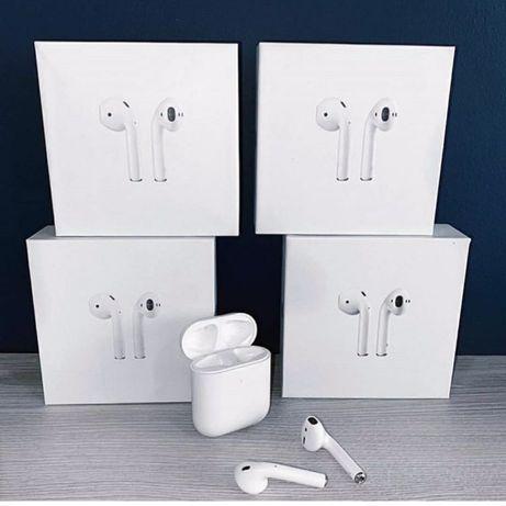 AirPods, Айрподс 2, безпроводные Bluetooth навушники, Есть ОПТ