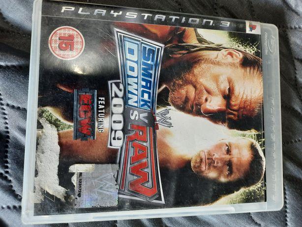 Smack vs raw 2009 ps3