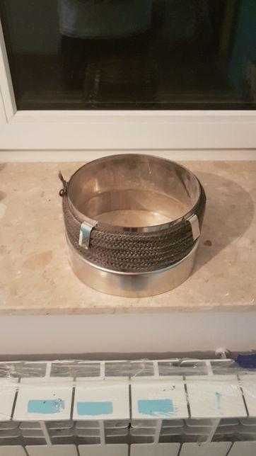 Przejście rurą fi 200 ceramiczny stalowy