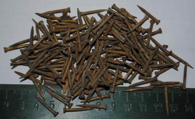 Гвіздочки латуні. Цвяхи меблеві або сапожні .