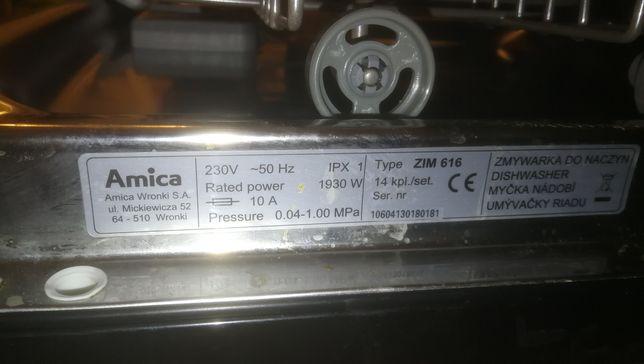 Sprzedam zmywarke AMICA ZIM 616