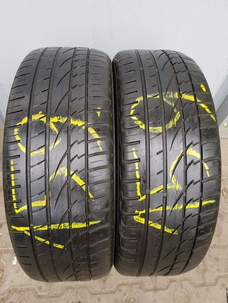 2x225/55R18 Continental Cross Contact UHP Para opon letnich Poznań
