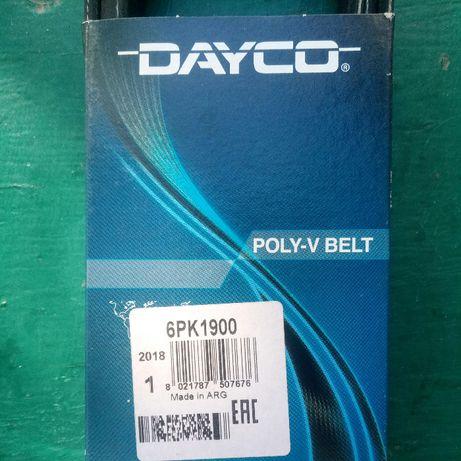 Продам ремень Dayco poly-v belt 6PK1900