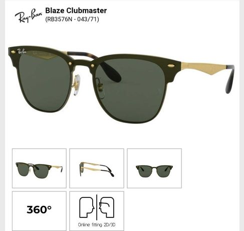 Ray-ban RB 3576-N clubmaster