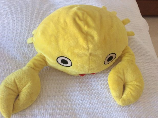 Caranguejo - brinquedo macio decorativo