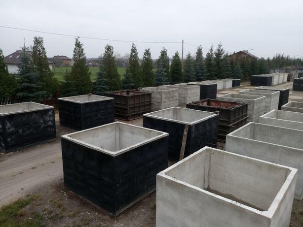 Szambo betonowe 5000 litów na gnojowicę deszczówkę Zbrojone