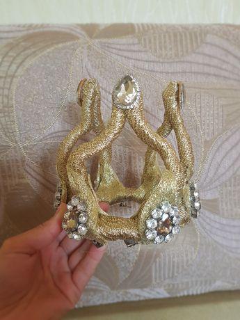 Корона, заколка в виде короны, украшение корона