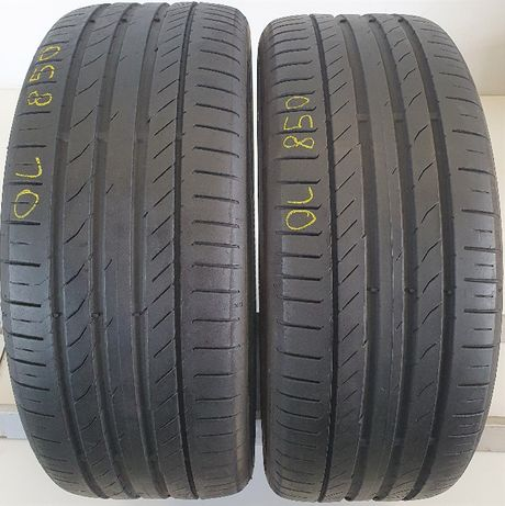 2x 225/45/18 Continental ContiSportContact 5 95W OL850