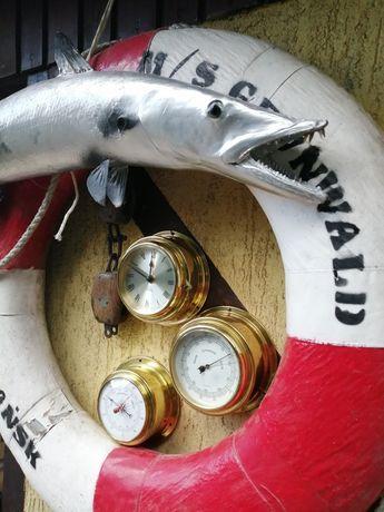 Zegar okrętowy, barometry