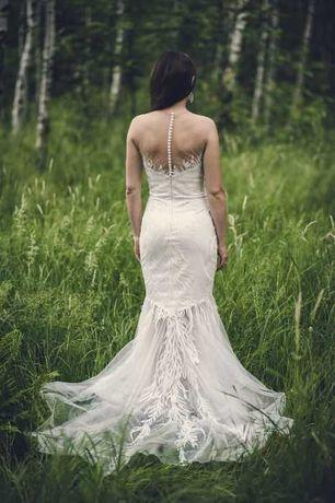 suknia ślubna syrena roz. 36