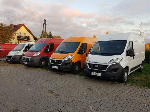 Wypożyczalnia Bus Wynajem Aut Dostawczych przeprowadzki Fiat Ducato