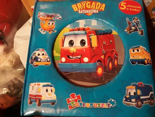 Książka+puzzle Brygada ratunkowa