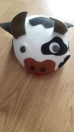 Strój karnawałowy - czapka krowa