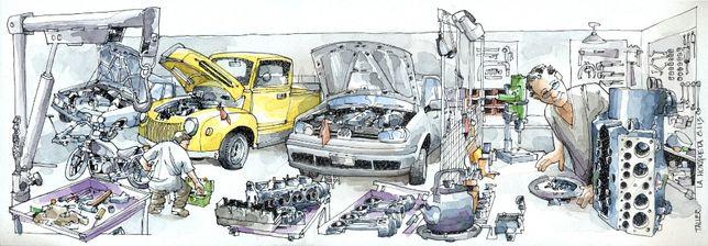 Ремонт отечественных автомобилей:электрика,ходовая,двигатель