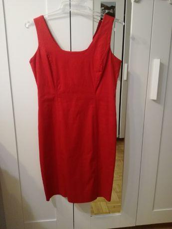 Seksowna czerwona sukienka mini rozmiar M, stan super