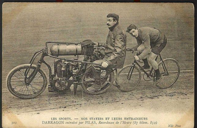 Postal Mota 1900s Raro Original Antigo