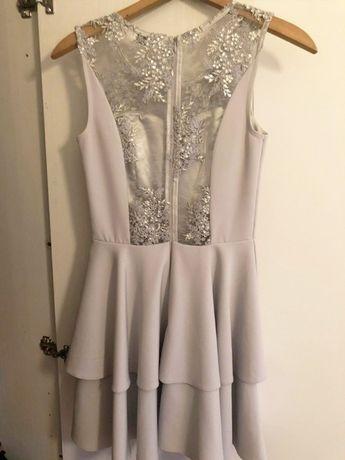 Sukienka z koronką na wesele, studniówkę, 18stke - stan idealny
