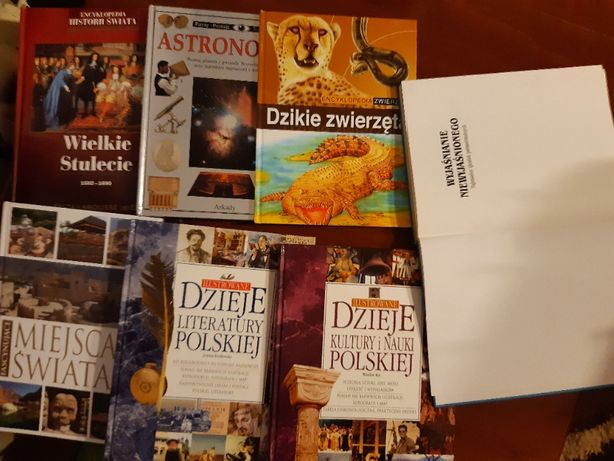 Książki - wiele do kupienia
