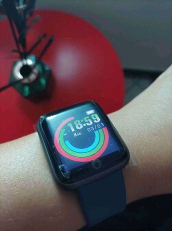 Relógio Smartwatch (novo) Bracelete Rosa/branca/azul/vermelha/preta