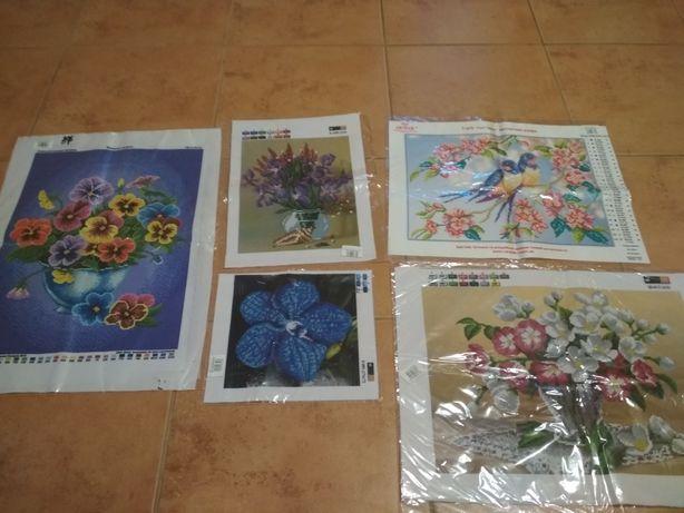Картины для вышивки бисером
