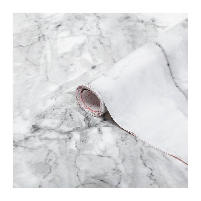 Okleina meblowa marmur folia samoprzylepna 45cm Romeo Łódź - image 1