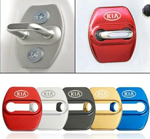Защита на защелку, скобу, фиксатора замка дверей KIA