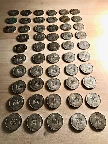 Monety XXX Lat PRL 200 zł Mapka / 50 Sztuk SREBRO /